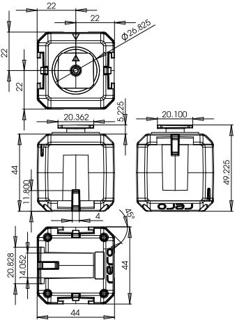 G15寸法図