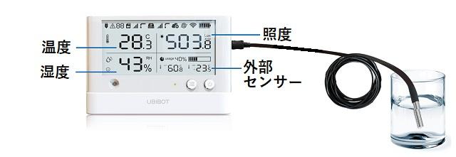 WS1 Pro LCD 表示内容